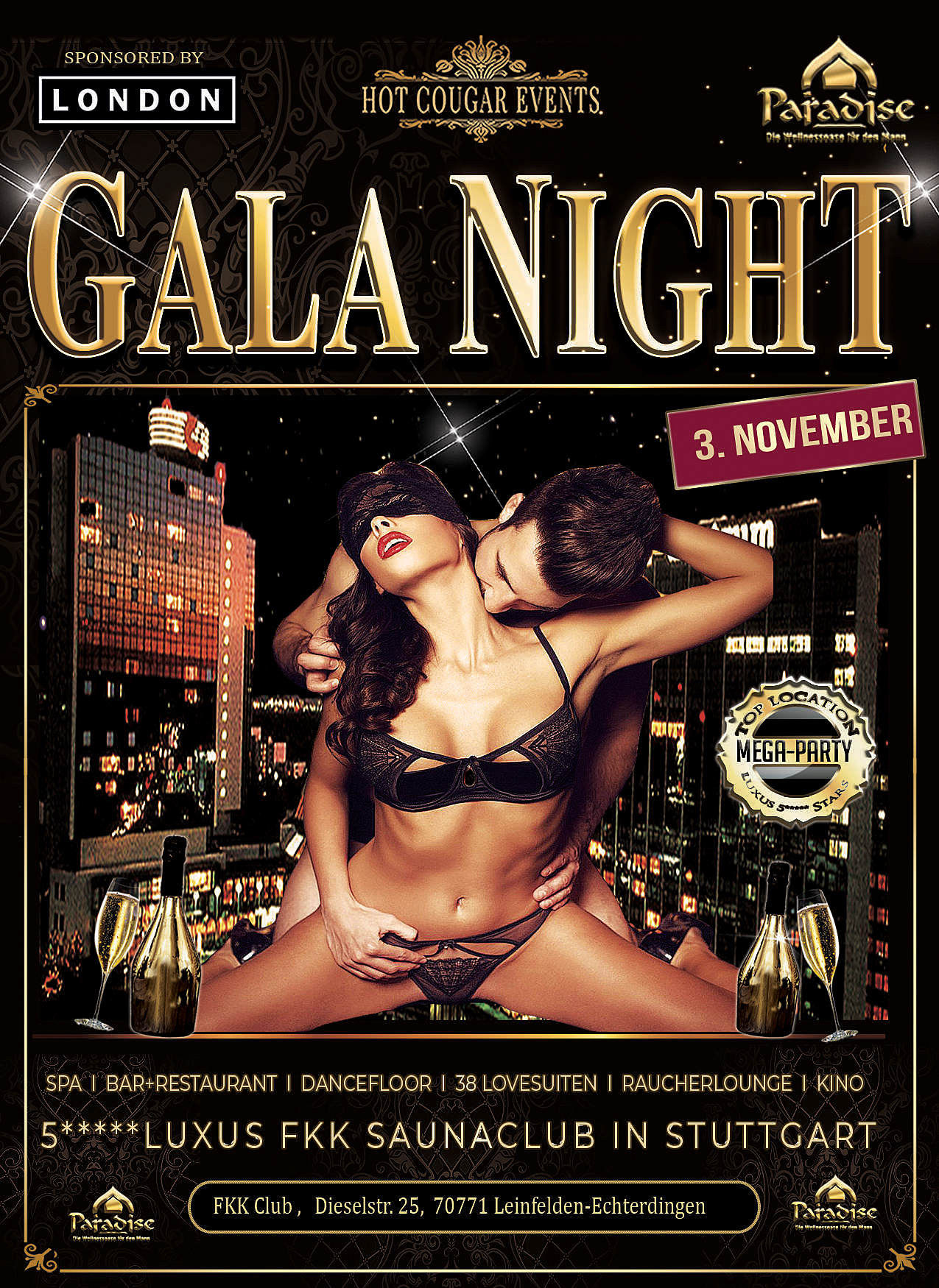 Swinger Gala Night Stuttgart